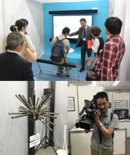 NHK技研の見学の様子